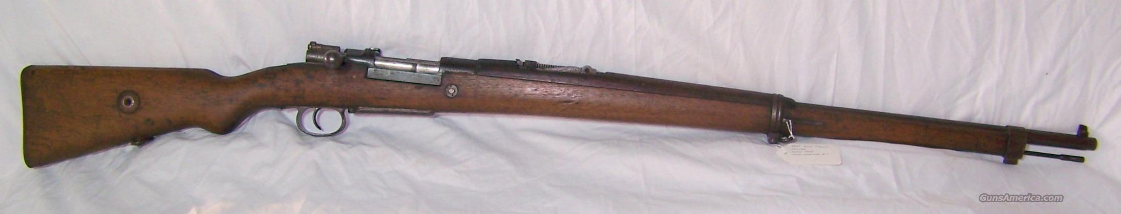 1935 Turkish Mauser 8mm  Guns > Rifles > Mauser Rifles > Turkish
