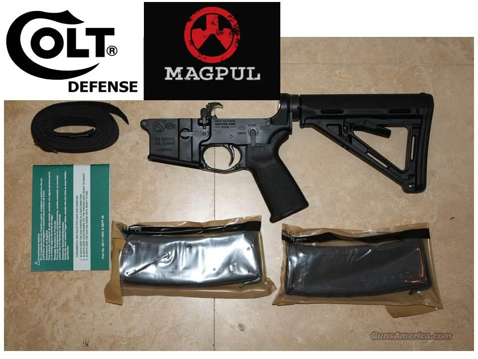 COLT LE 6920 M4/MP NEW LOWER RECEIVER LE SERIAL NUMBER  Guns > Rifles > Colt Military/Tactical Rifles