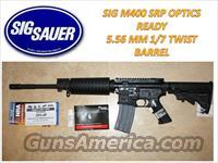 SIG SAUER M400 SRP/OPTICS READY/5.56MM 1/7 TWIST BARREL /AR15   Guns > Rifles > Sig - Sauer/Sigarms Rifles
