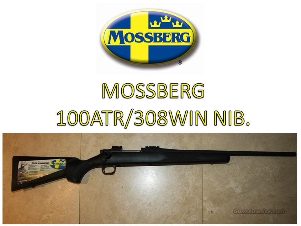 MOSSBERG 100 ATR  308 WIN  SYN STOCK BLACK /NIB  Guns > Rifles > Mossberg Rifles > Other Bolt Action