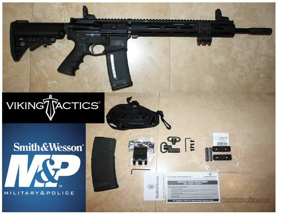 SMITH & WESSON MP15 VTAC II / VIKING TACTICAL 5.56 MM  Guns > Rifles > Smith & Wesson Rifles > M&P