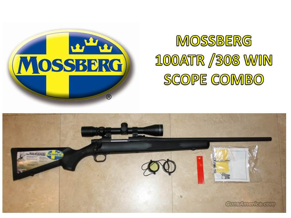 MOSSBERG 100 ATR/308WIN SCOPE COMBO SYN STOCK NIB      Guns > Rifles > Mossberg Rifles > 100 ATR