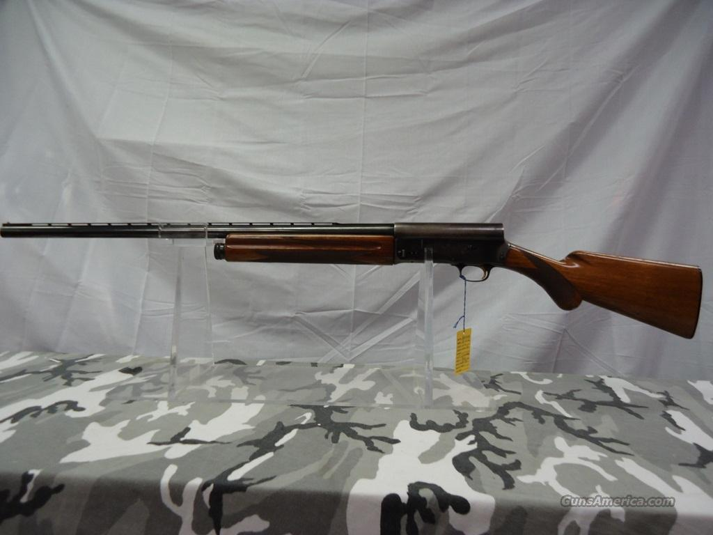 "1956 BROWNING A-5 ""LIGHT TWELVE"" 12 GA   Guns > Shotguns > Browning Shotguns > Autoloaders > Hunting"