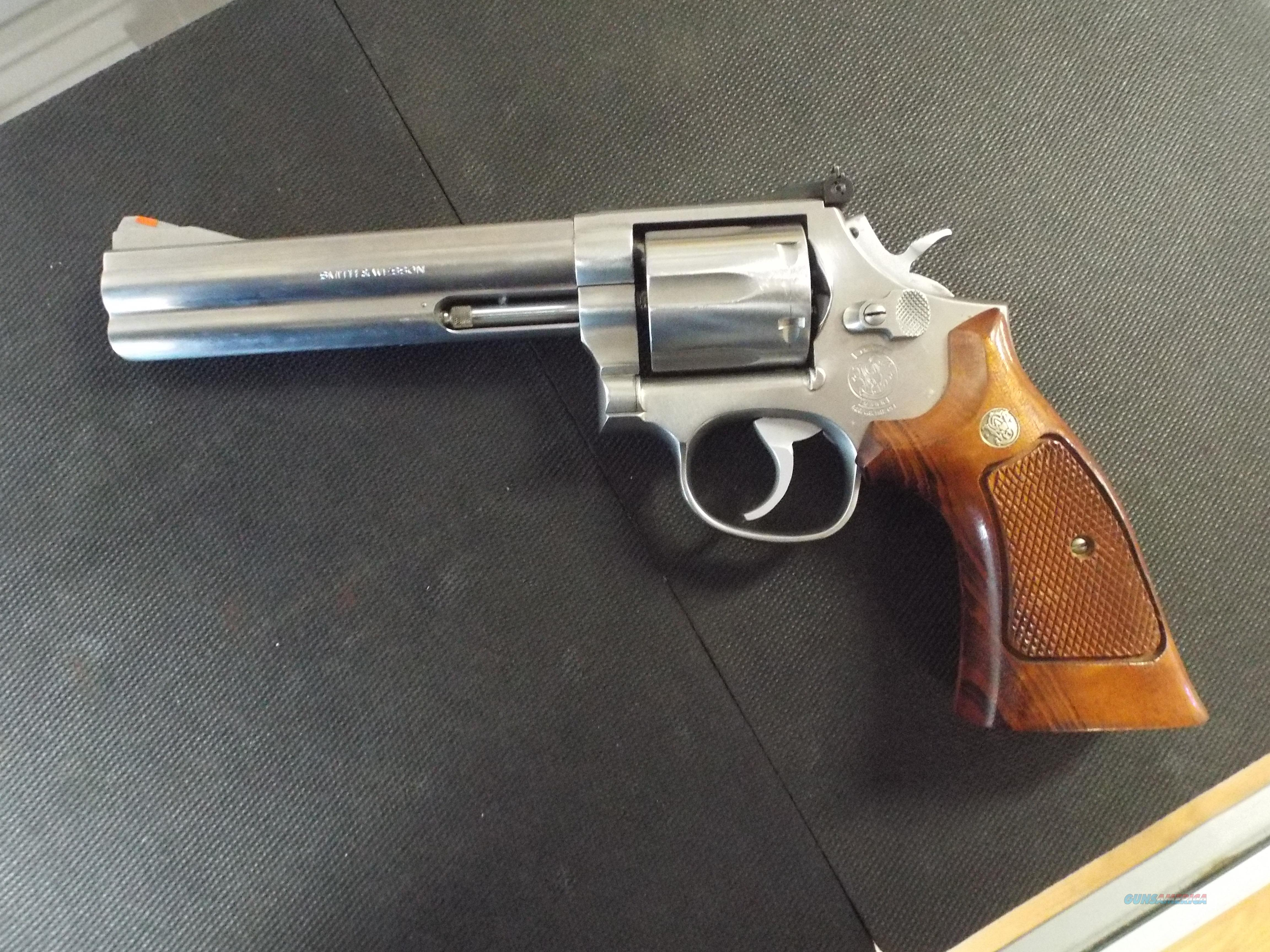 "Smith And Wesson 686-1 6"" Barrel .357 Magnum  Guns > Pistols > Smith & Wesson Revolvers > Full Frame Revolver"