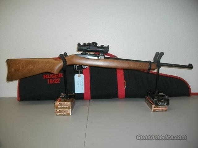 ruger 10 22 with reed dot optic like new  Guns > Rifles > Ruger Rifles > 10-22
