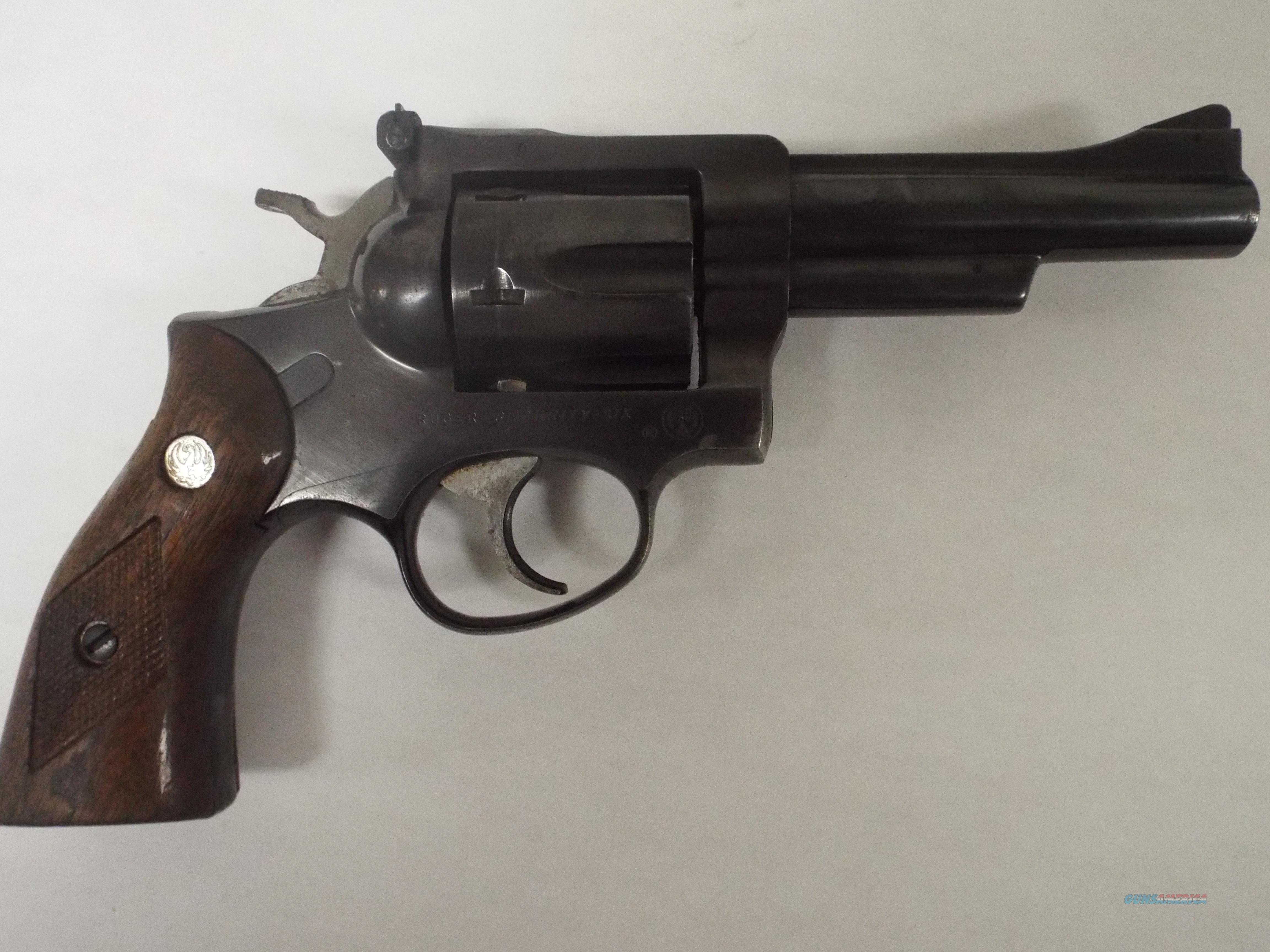 RUGER SECURITY SIX 357   Guns > Pistols > Ruger Double Action Revolver > Security Six Type