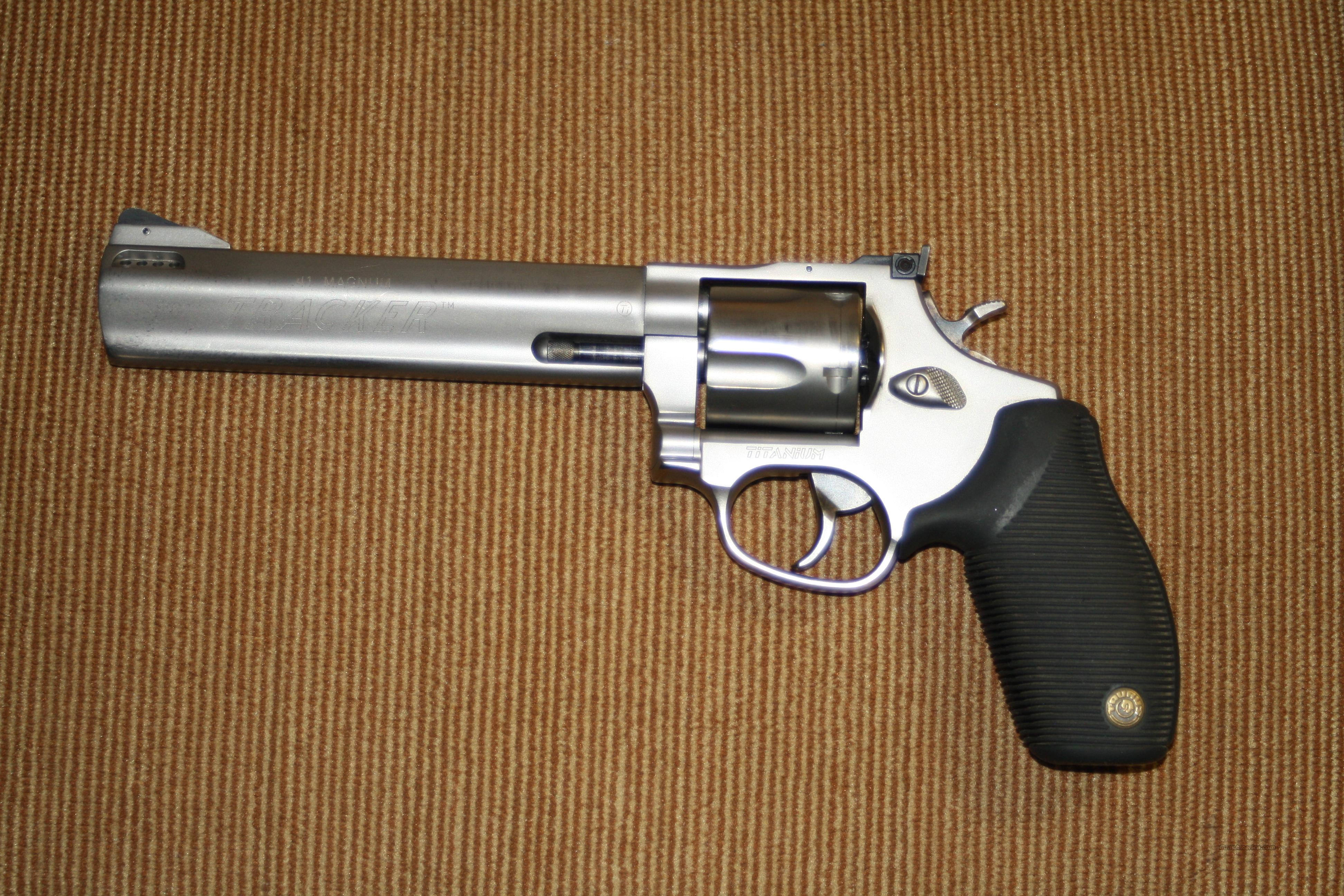 taurus 41 mag titanium revolver for sale. Black Bedroom Furniture Sets. Home Design Ideas