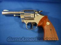"Colt Lawman Mk III .357 Mag 4"" Nickel 1977  Colt Double Action Revolvers- Modern"