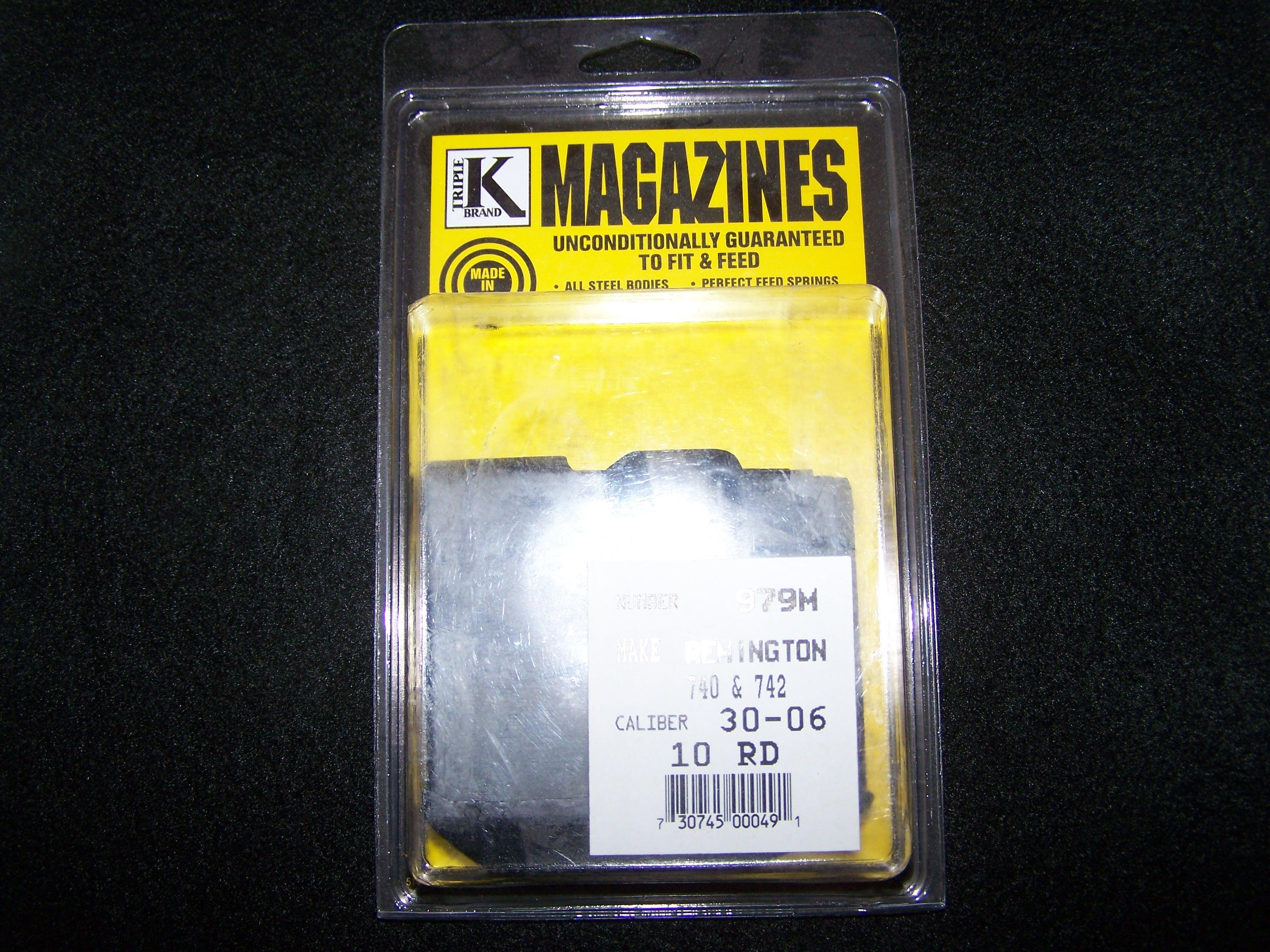 Triple K Remington 742 10-rd Magazine  Non-Guns > Magazines & Clips > Rifle Magazines > Other
