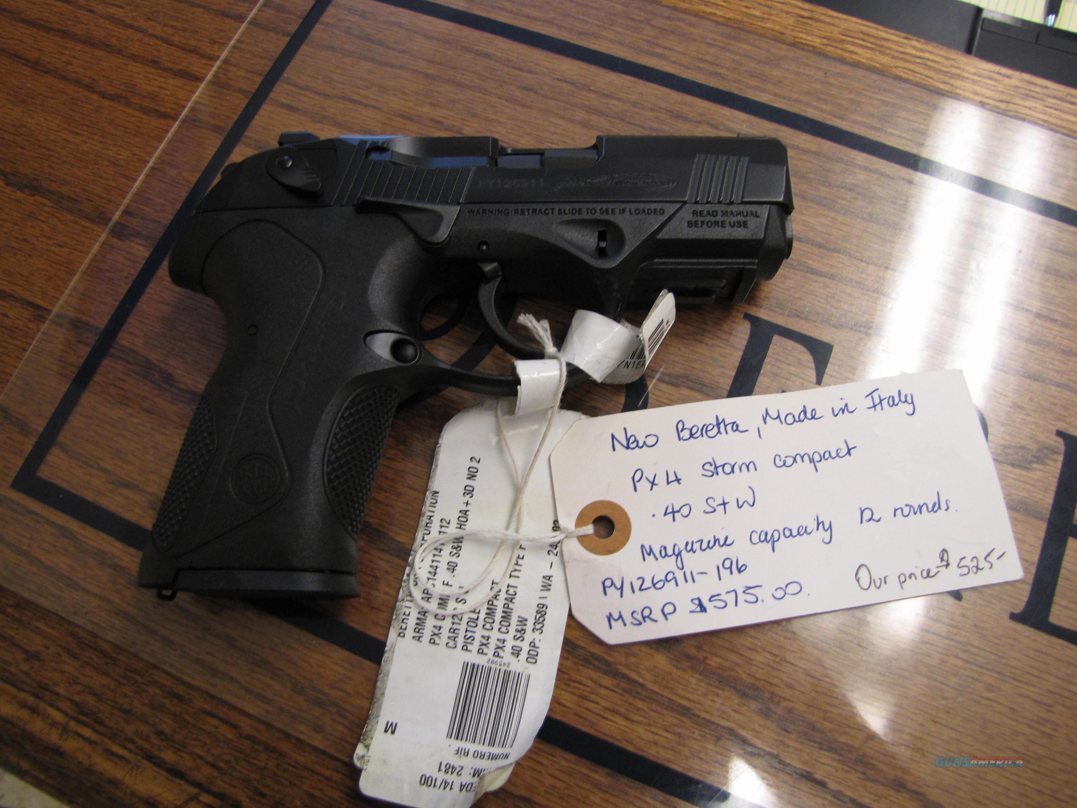 Beretta PX4 Storm Compact  Guns > Pistols > Beretta Pistols > Polymer Frame