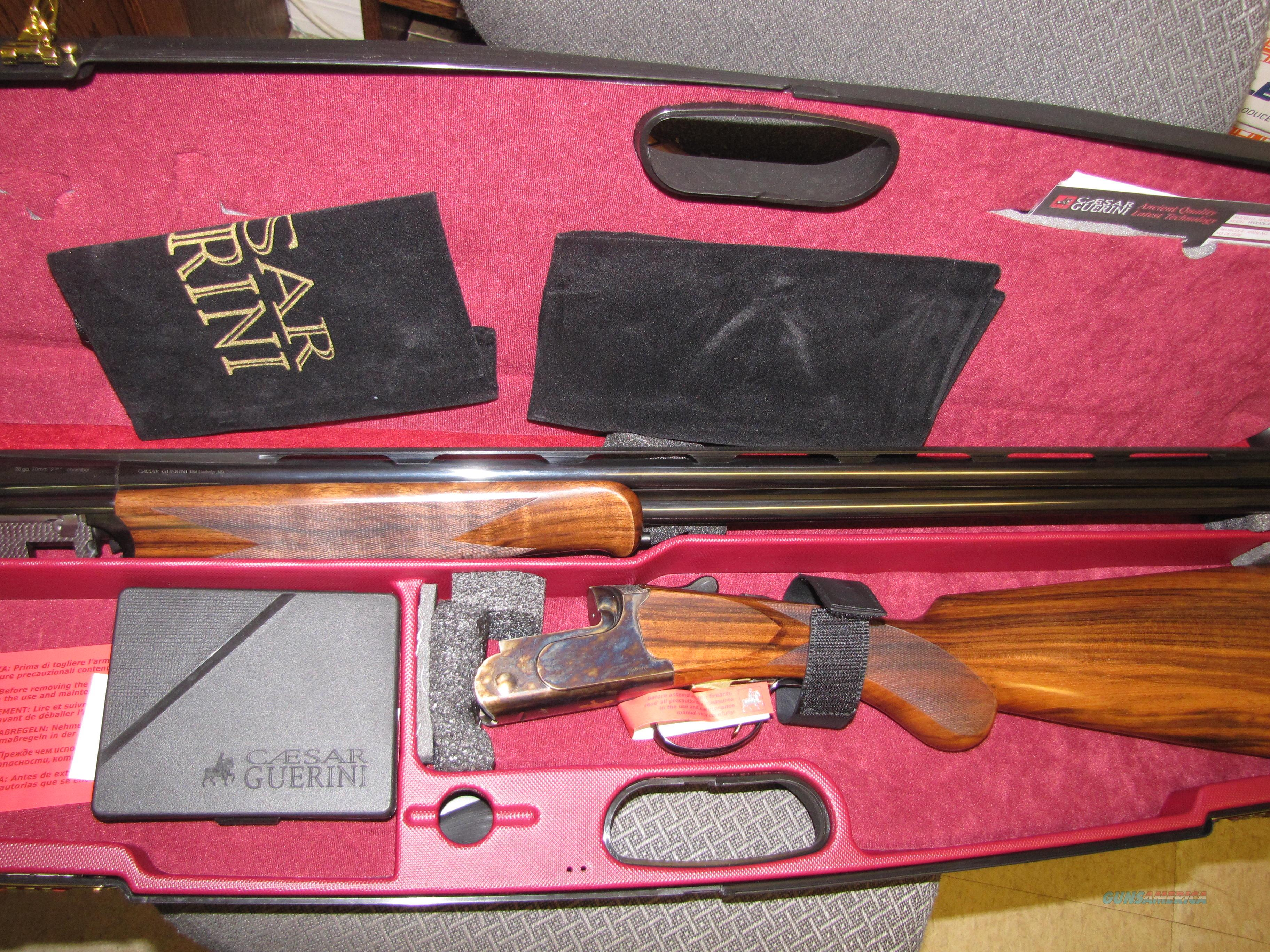 Beautiful Woodlander 28 gauge with 28 inch barrels &  case hardened finish   Guns > Shotguns > Guerini Shotuns