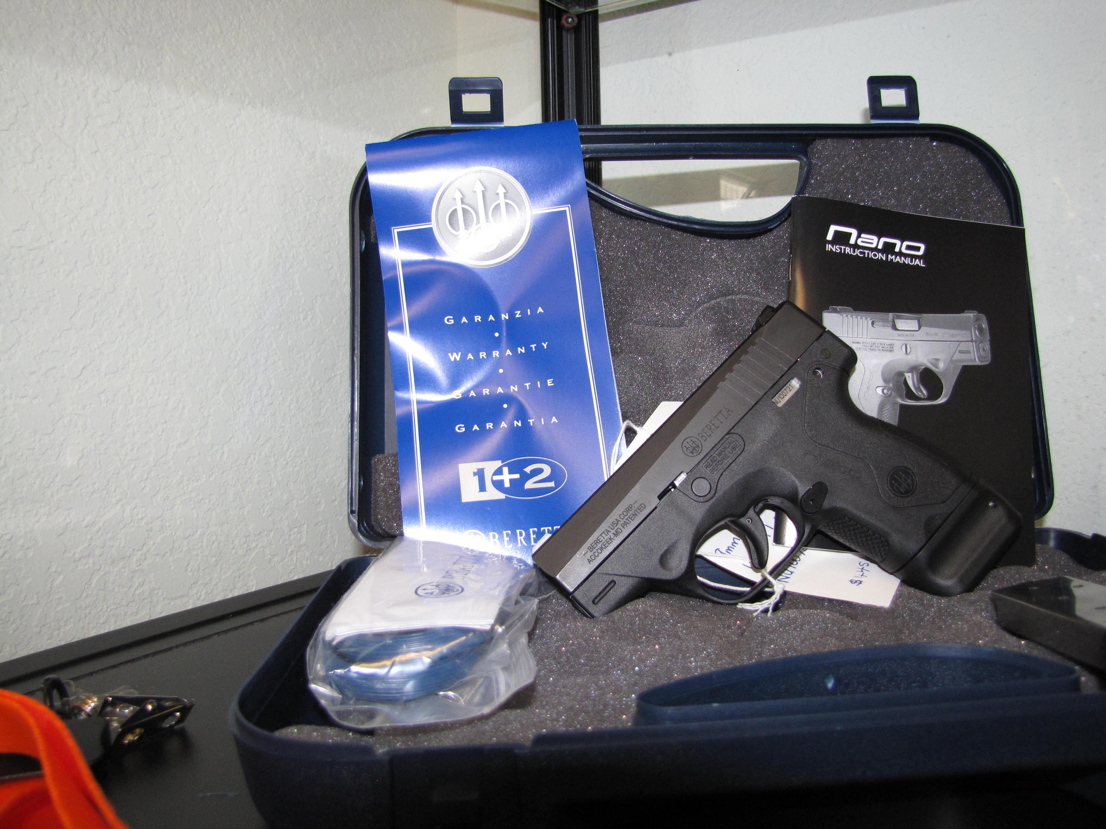 Beretta Nano  Guns > Pistols > Beretta Pistols > Polymer Frame