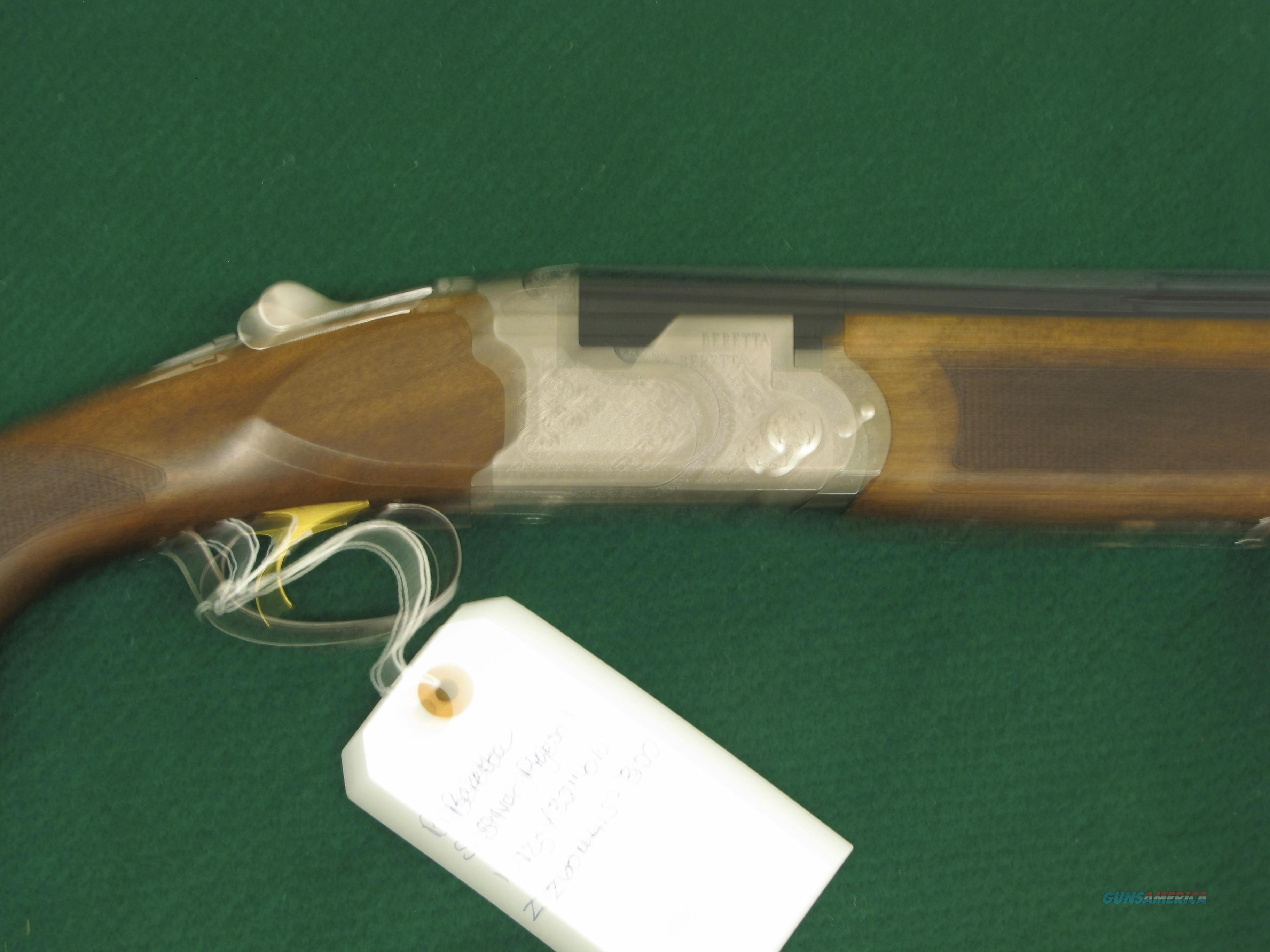 New Beretta, Silver Pigeon 1. 12 gauge 32 inch over under.   Guns > Shotguns > Beretta Shotguns > O/U > Trap/Skeet