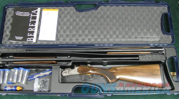 NIB, Beretta Combo 28 gauge 28 inch barrels and .410 bore 28 inch barrels.  Guns > Shotguns > Beretta Shotguns > O/U > Trap/Skeet