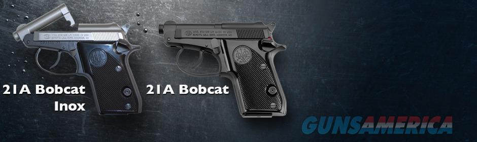 Beretta 21A  Bobcat Blued barrel , with black plastic grips   Guns > Pistols > Beretta Pistols > Small Caliber Tip Out