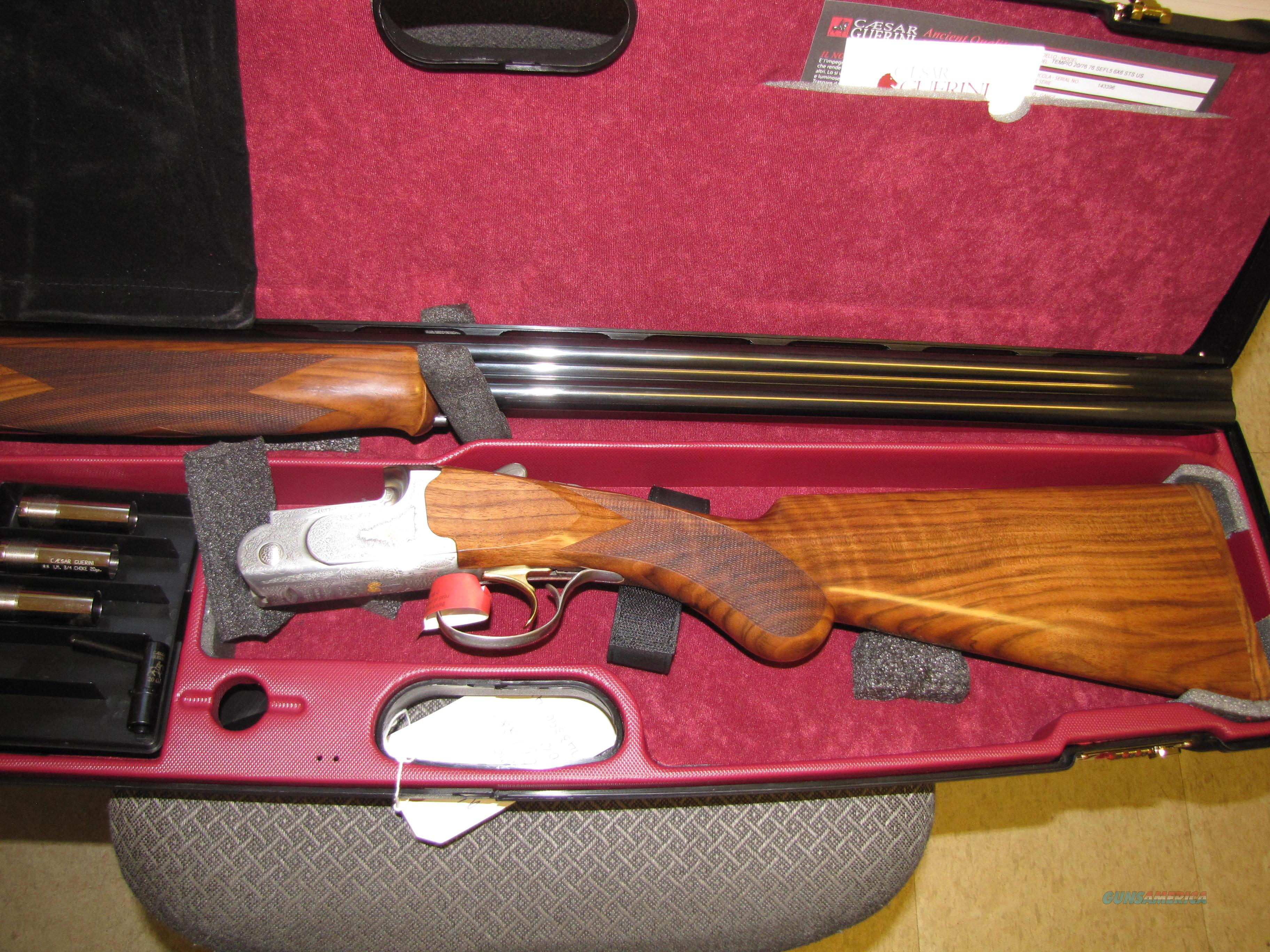 NIB Guerini Tempio 20 gauge with 28 inch ou barrels field model  Guns > Shotguns > Guerini Shotuns