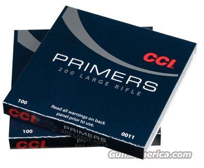 CCI #400 Primer Small Rifle 10 Boxes of 100 Primer  Non-Guns > Reloading > Components > Other