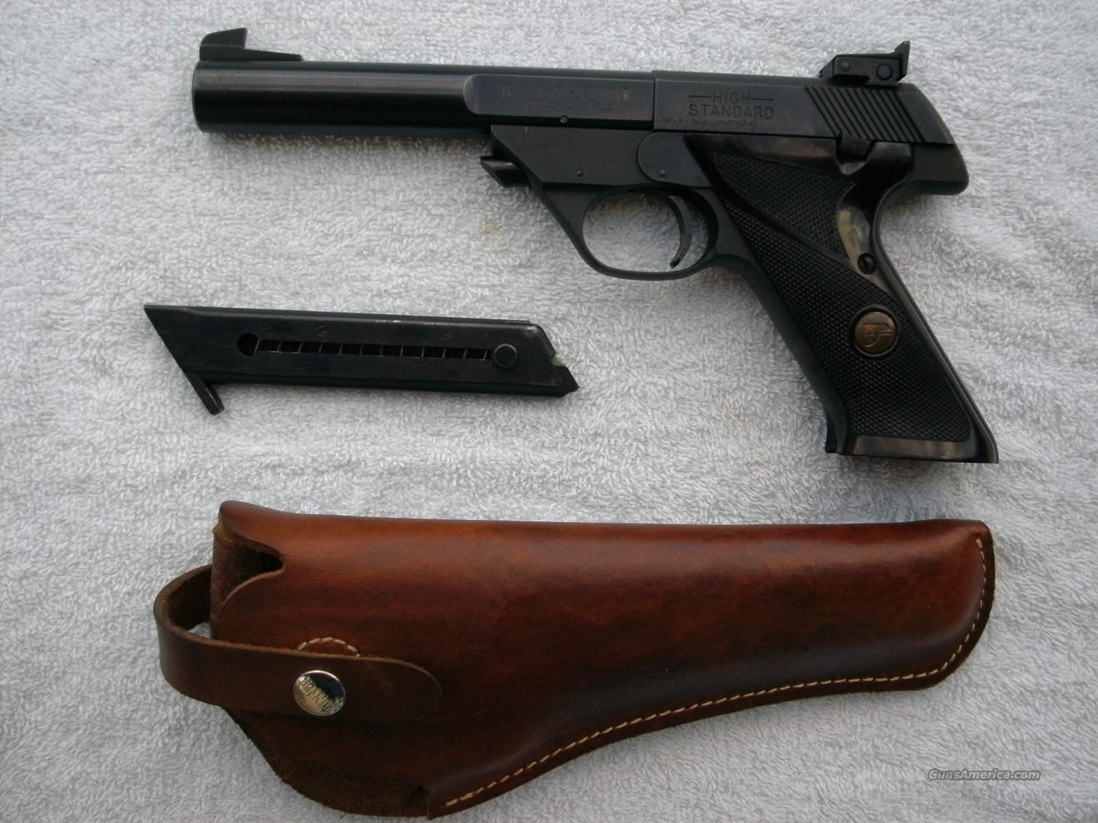 High Standard Sharpshooter .22 cal pistol  Guns > Pistols > High Standard Pistols