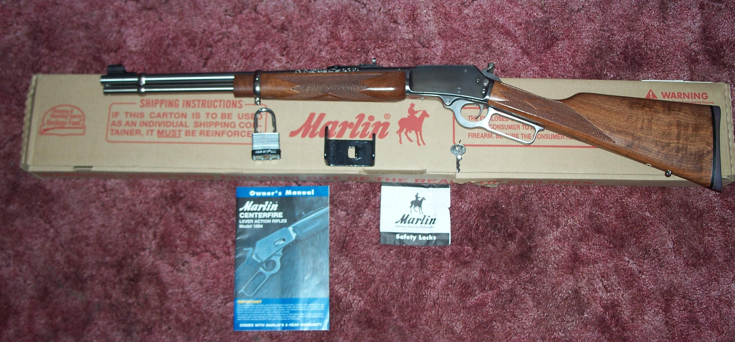 MARLIN 1894 CSS 357 MAGNUM STAINLESS TRAPPER  Guns > Rifles > Marlin Rifles > Modern > Lever Action