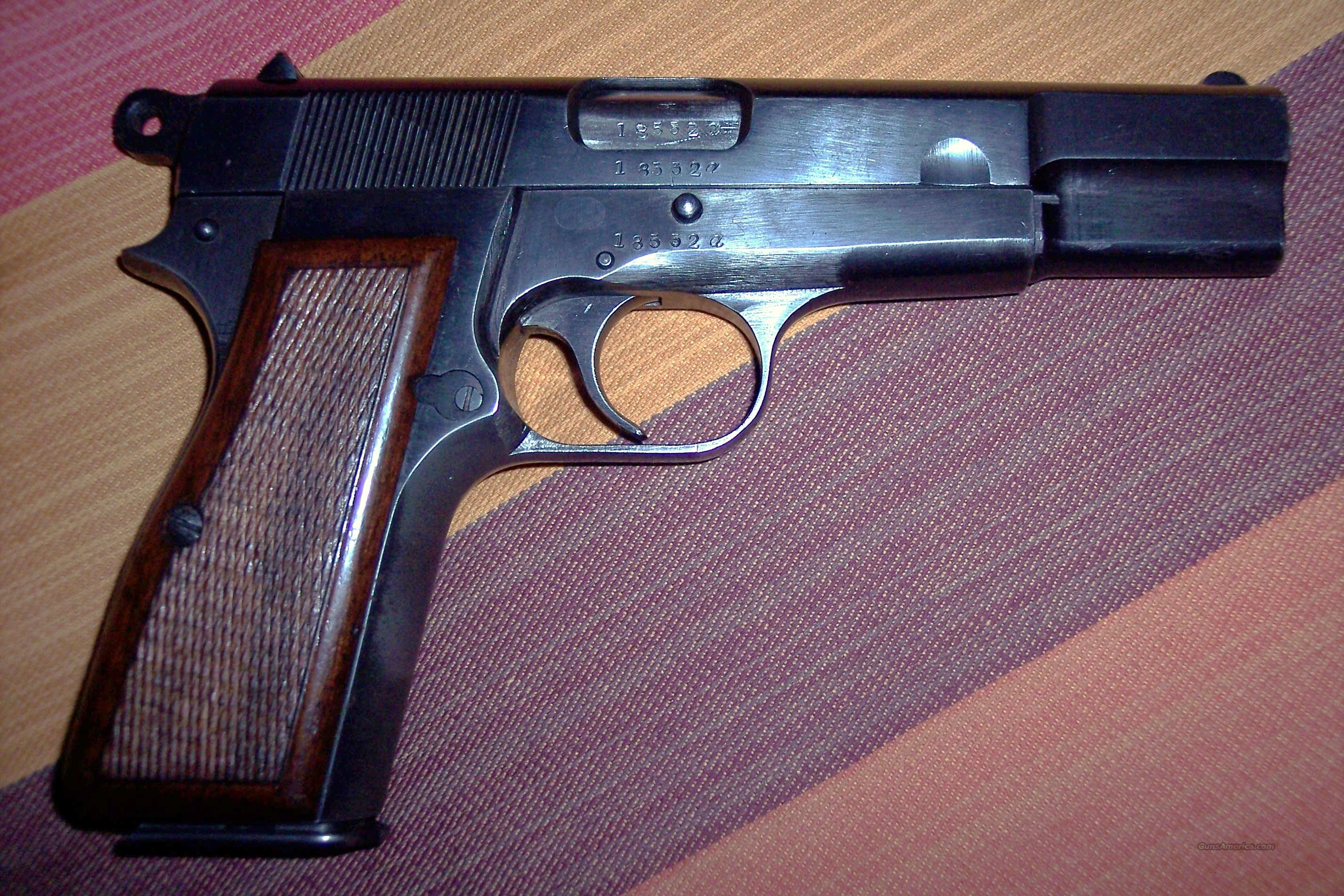 P-35 HI-POWER (BROWNING)  Guns > Pistols > FNH - Fabrique Nationale (FN) Pistols > High Power Type
