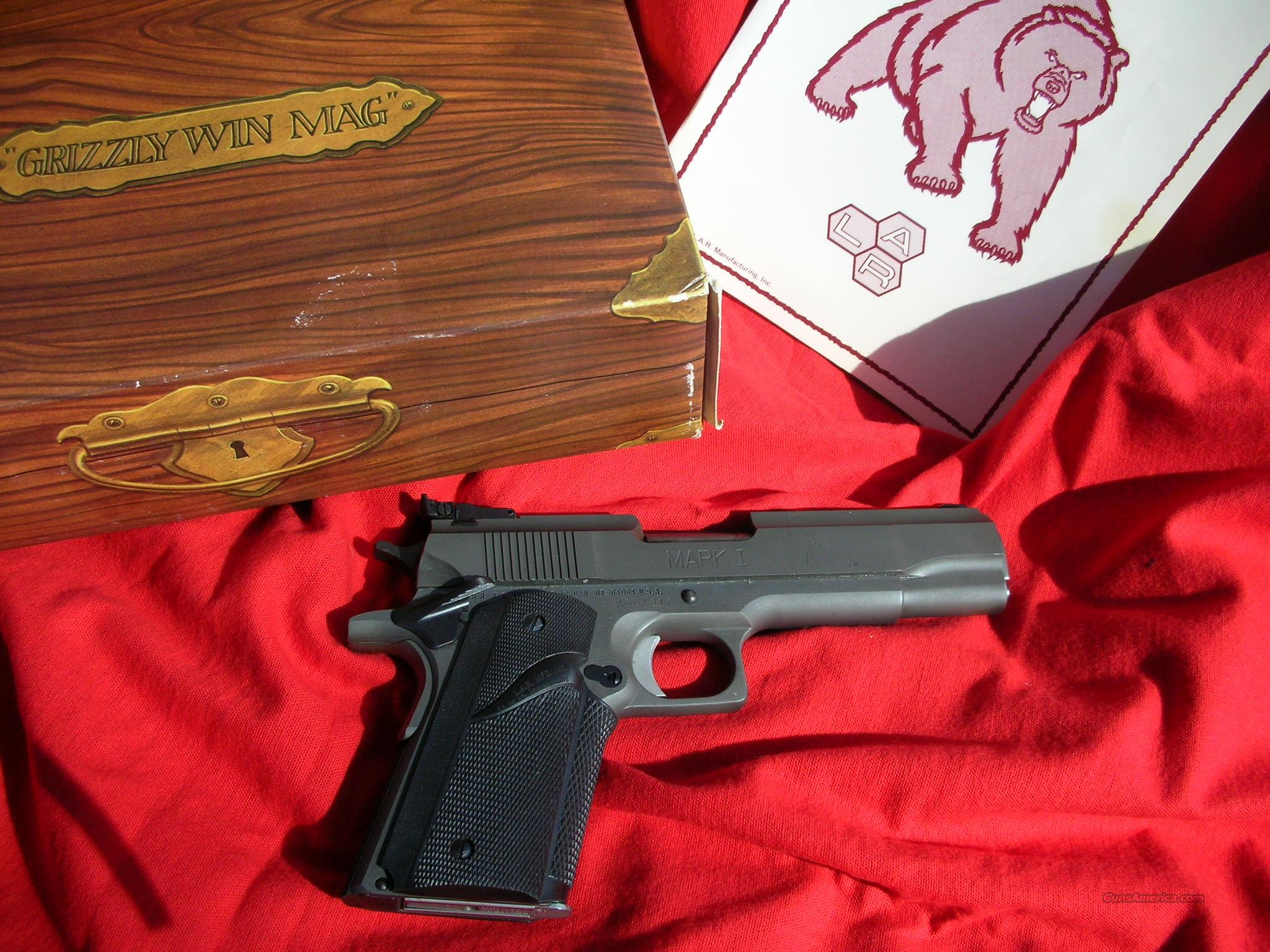 LAR GRIZZLY 45 WIN MAG   MINT ! Ammo Avail Also  Guns > Pistols > LAR/Grizzly Mfg. Co. Pistols