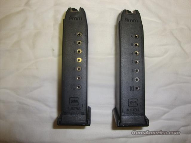 GLOCK 19 - GEN 4  - 10RD MAGS ( BRAND NEW )  Non-Guns > Magazines & Clips > Pistol Magazines > Glock