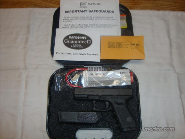 Glock 23 Gen-3 .40SW Fixed Sights 13+1, NIB  Guns > Pistols > Glock Pistols > 23
