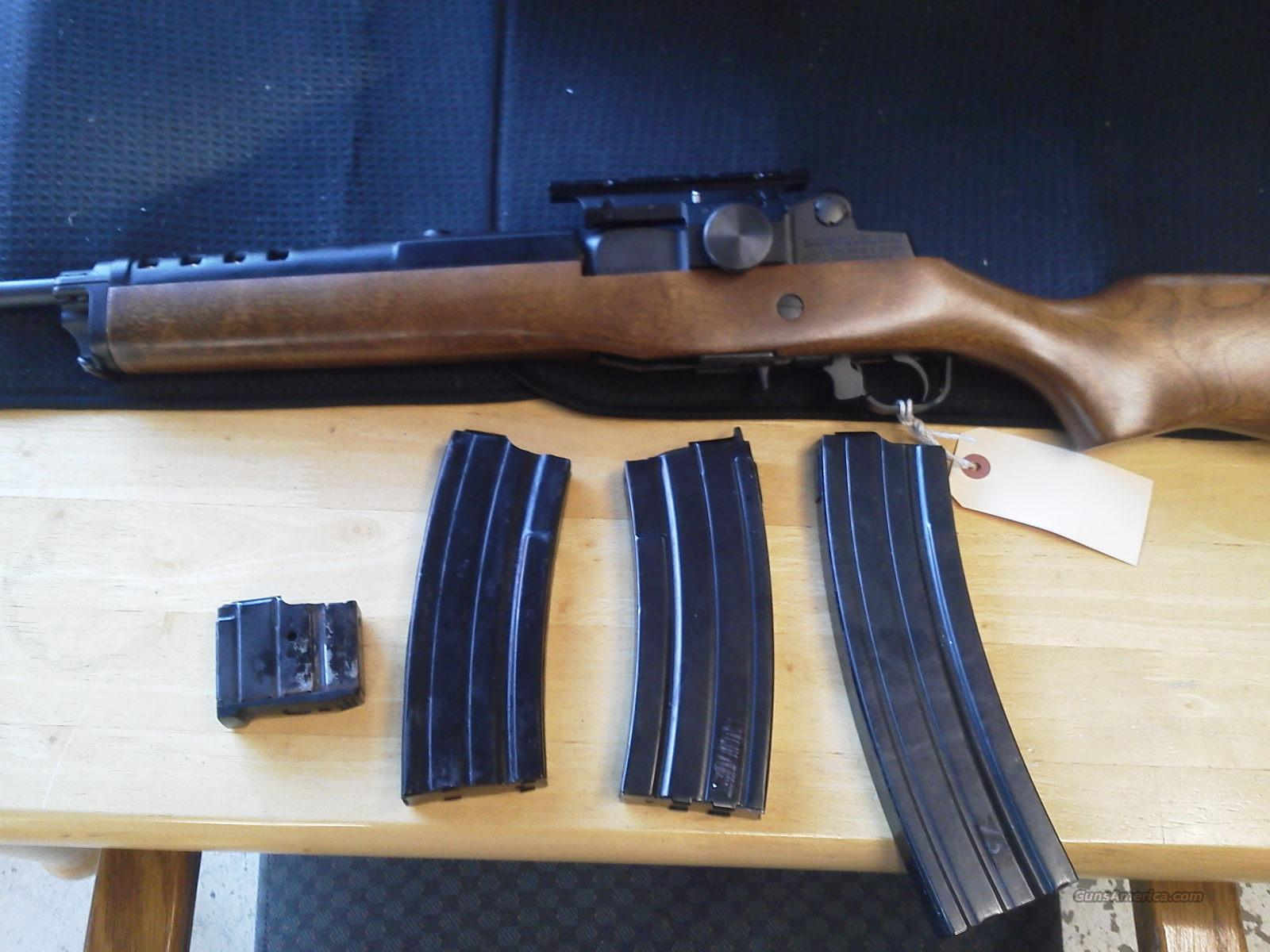 Ruger Mini 14 with mags   Guns > Rifles > Ruger Rifles > Mini-14 Type