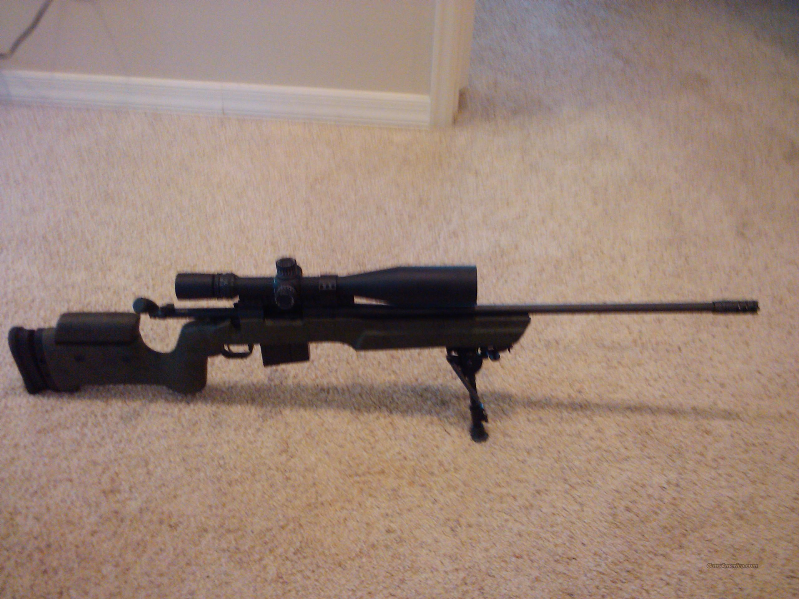 Remington 700 .308 With Bell & Carlson A5 Stock  Guns > Rifles > Remington Rifles - Modern > Model 700 > Tactical