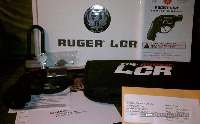 Ruger LCR-TS Talo Model #5406 .38 Spl.+P Deluxe Silver Edition 1/1,500  Guns > Pistols > Ruger Double Action Revolver > LCR