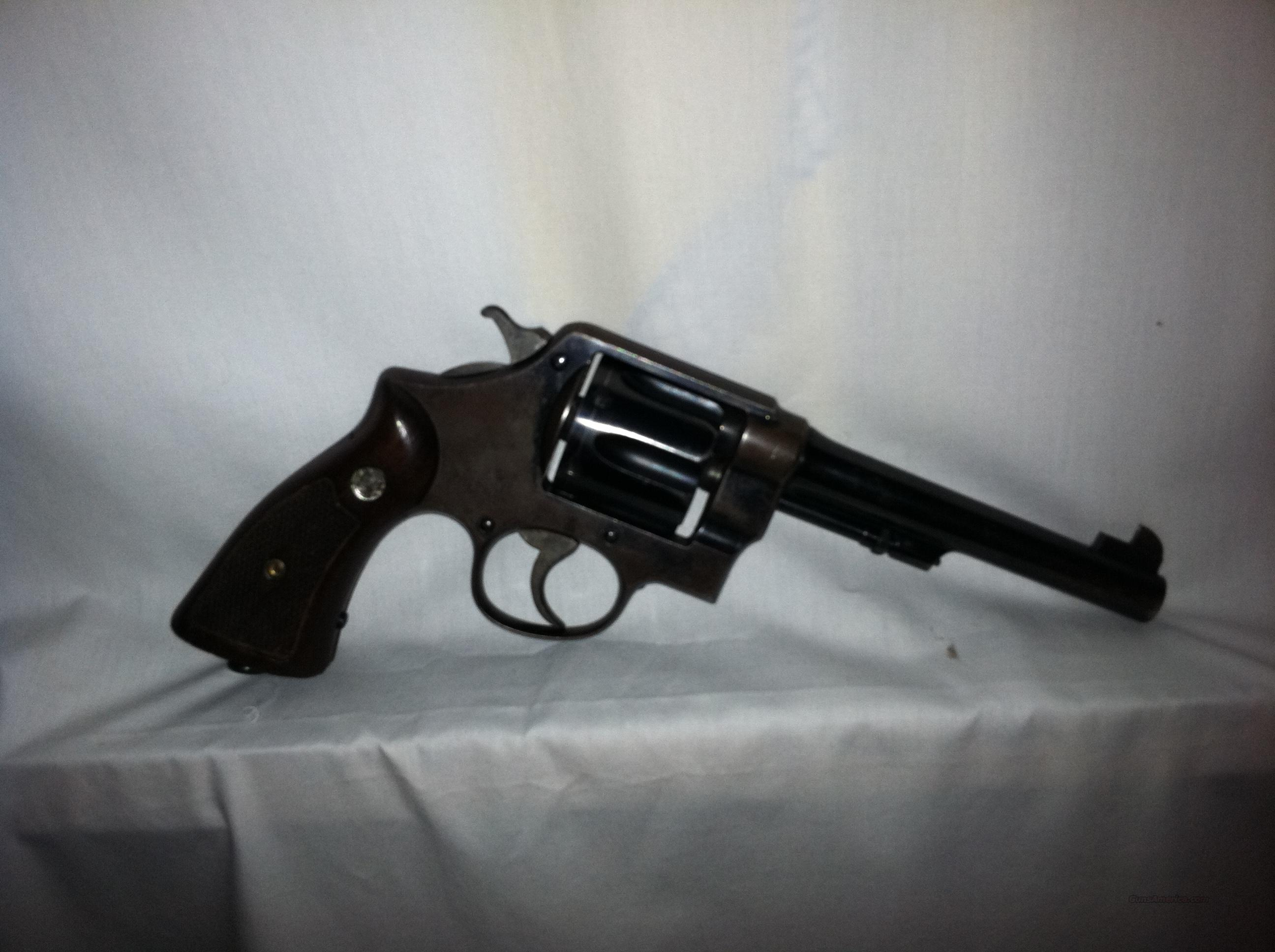 S & W 1917 Revolver  Guns > Pistols > Smith & Wesson Revolvers > Pre-1945