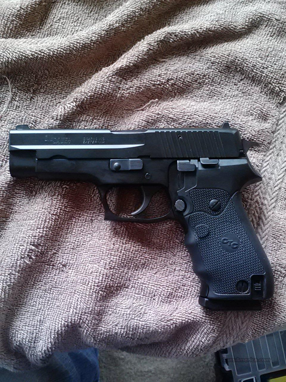 Sig P220 w/ 3 mags and crimson trace laser grip  Guns > Pistols > Sig - Sauer/Sigarms Pistols > P220