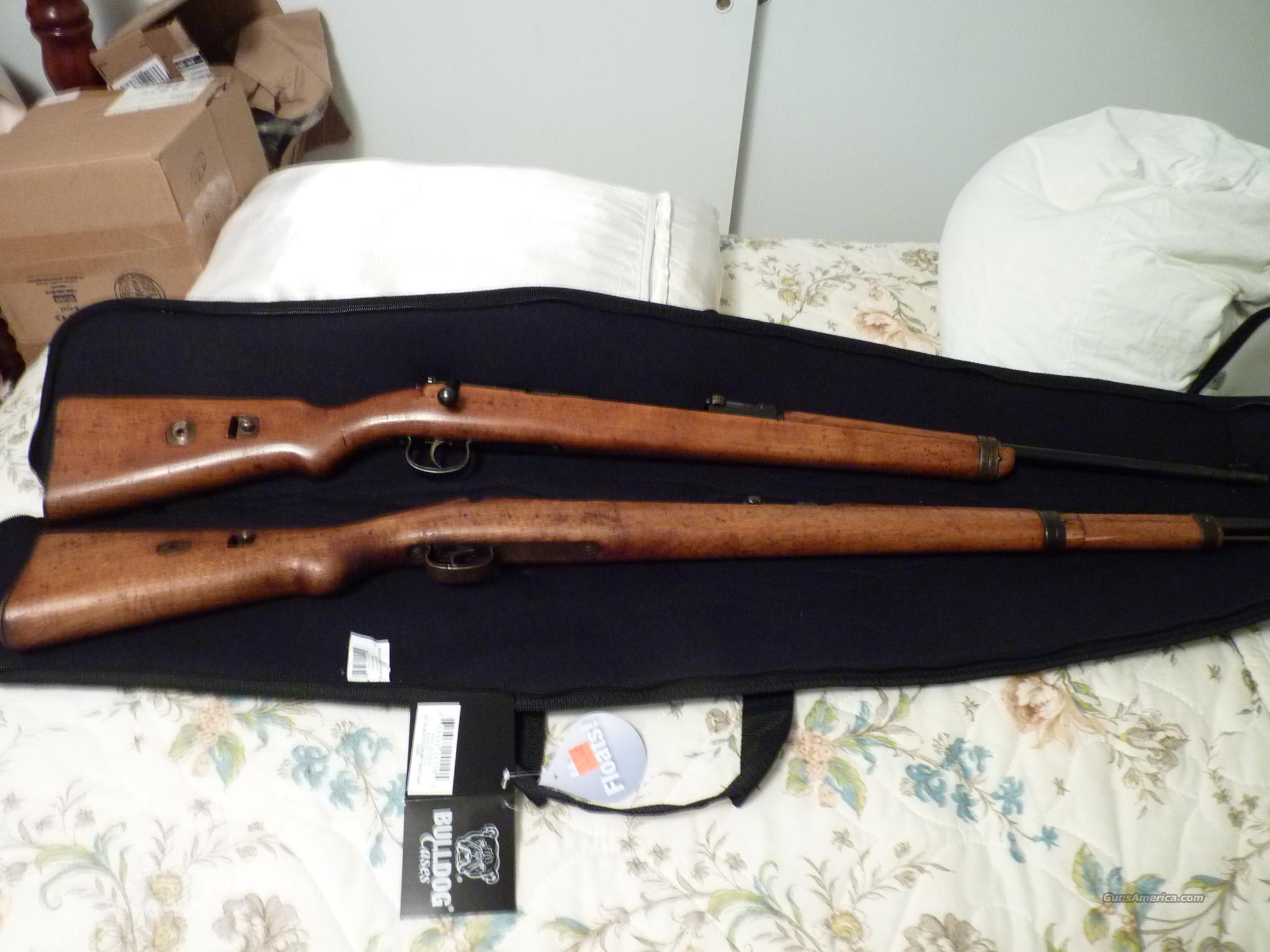 2-Deutche Sportmodells .22 Kal  Guns > Rifles > Military Misc. Rifles Non-US > Other