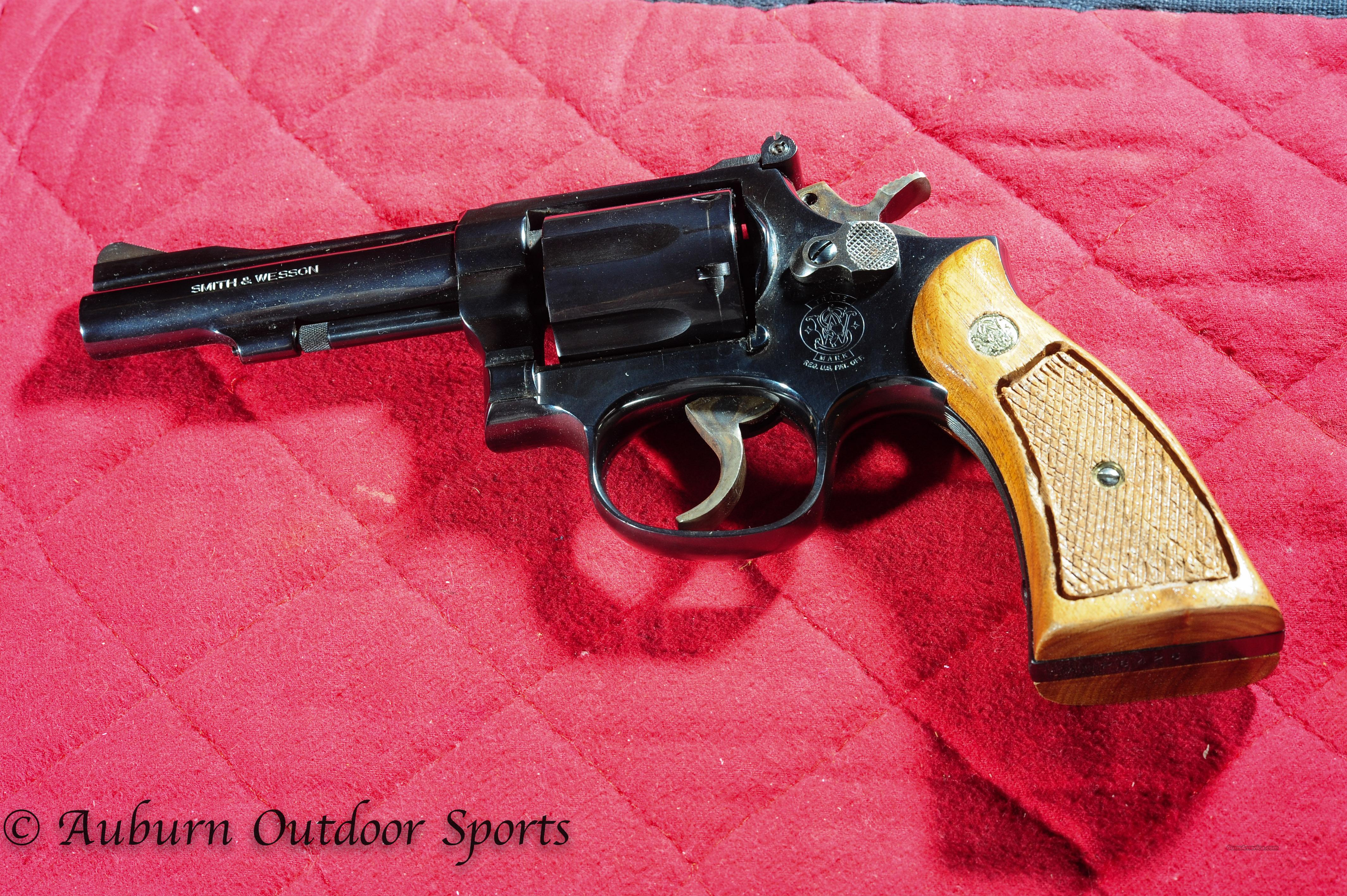 Smith & Wesson Model 15-4  Guns > Pistols > Smith & Wesson Revolvers > Full Frame Revolver