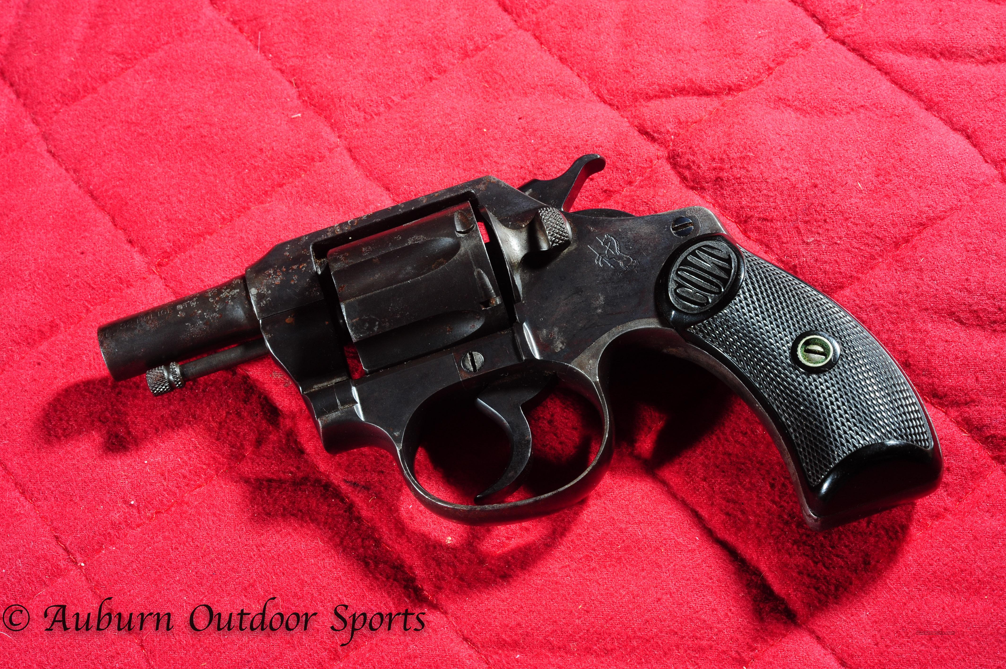 Colt Police Positive 32. Police Ctg.  Guns > Pistols > Colt Double Action Revolvers- Modern