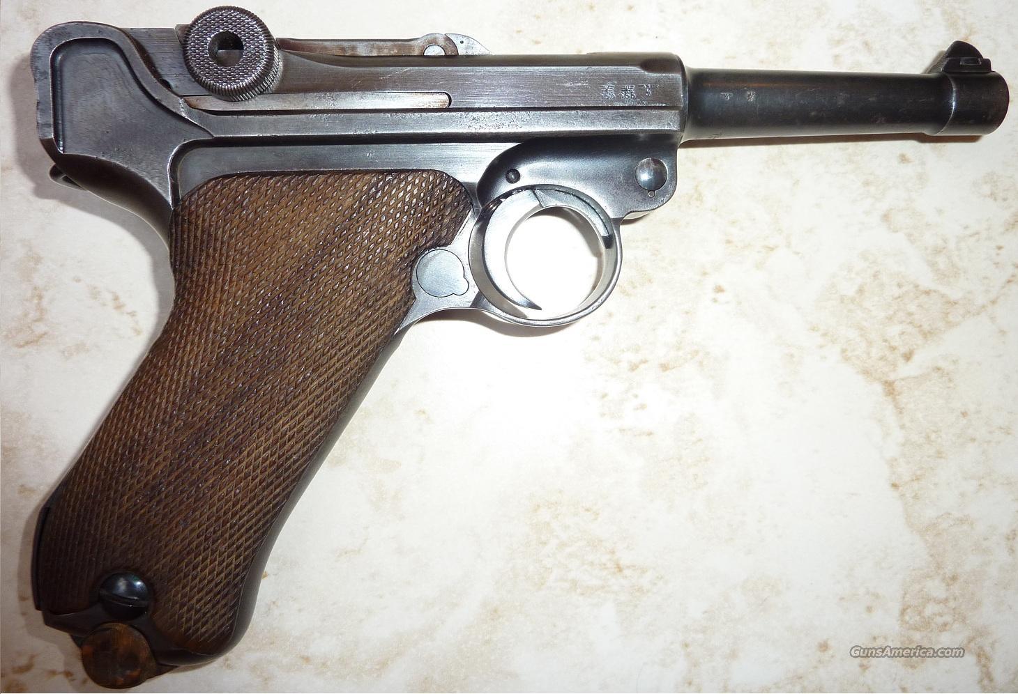 1939 42 GERMAN LUGER P08   Guns > Pistols > Luger Pistols