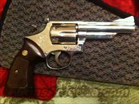 Smith & Wesson Model 19-3 Nickel Plated 357 magnum  Guns > Pistols > Smith & Wesson Revolvers > Full Frame Revolver