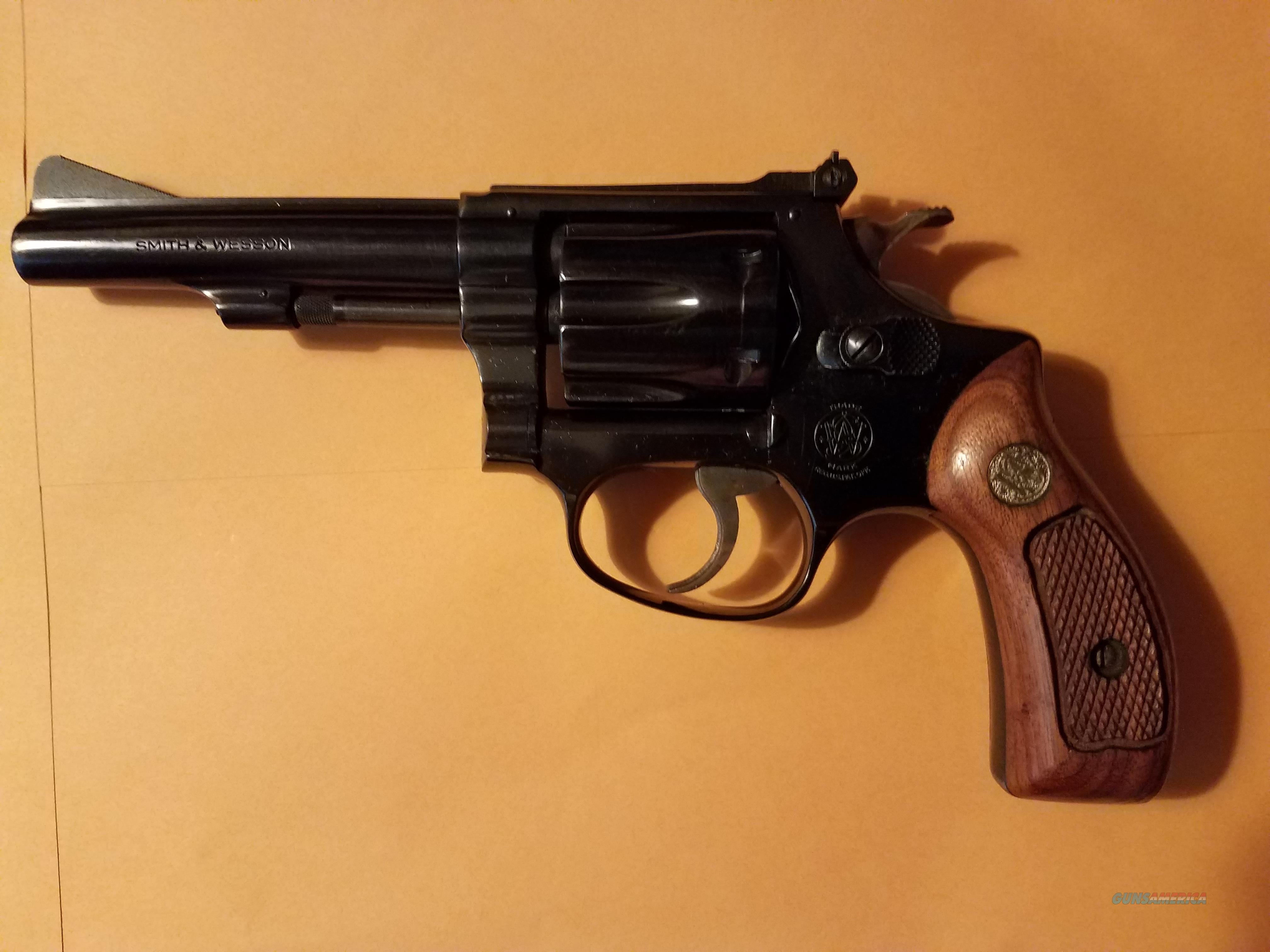 Smith and Wesson Model 34-1  Guns > Pistols > Smith & Wesson Revolvers > Small Frame ( J )