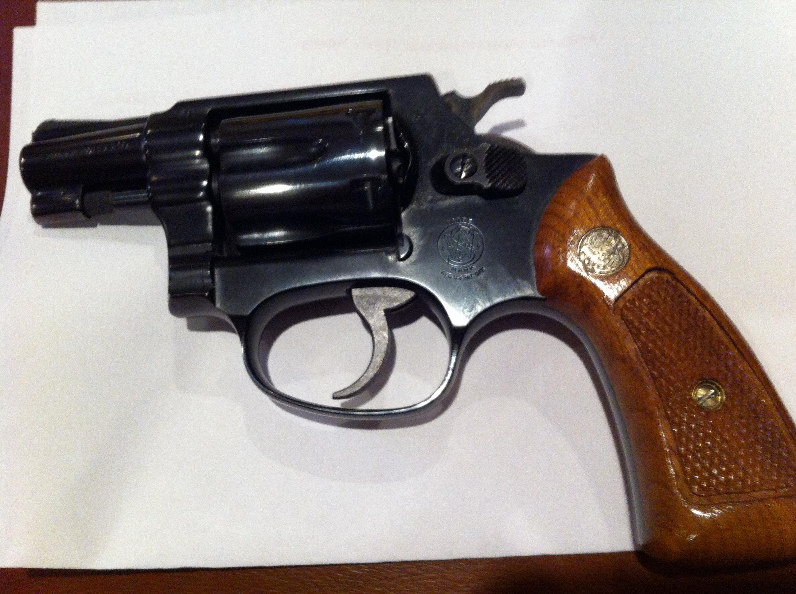 Smith and Wesson Model 31-1 Revolver .32 long  Guns > Pistols > Smith & Wesson Revolvers > Pocket Pistols