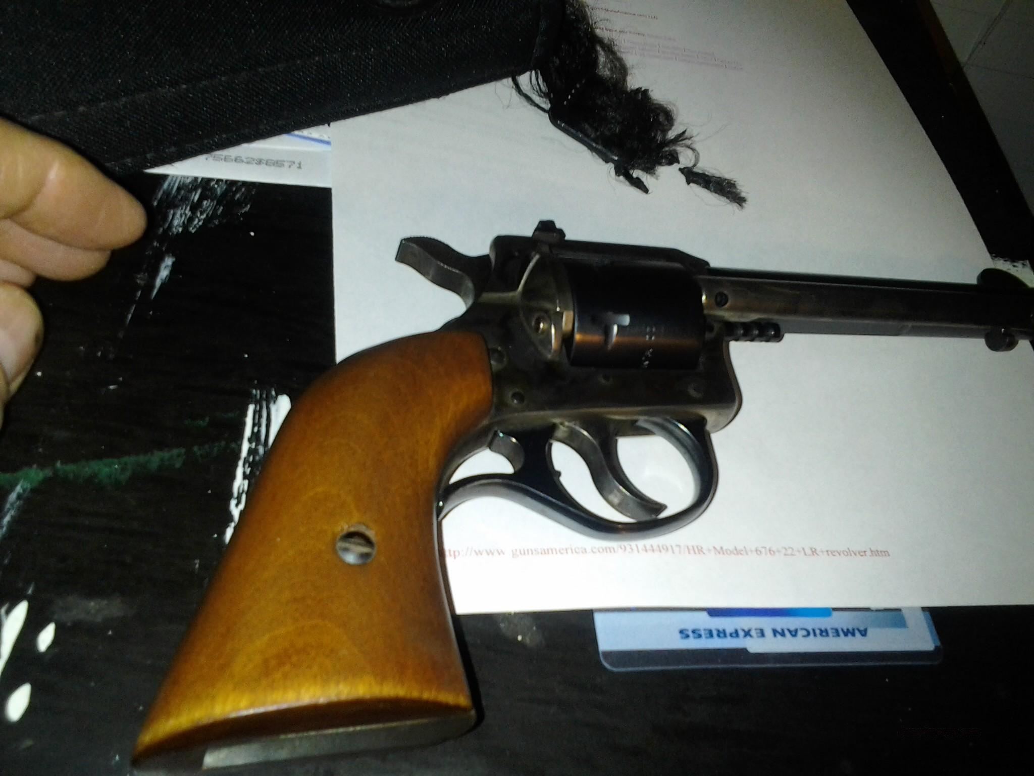 H&R Model 676 Revolver 22 Magnum  Guns > Pistols > Harrington & Richardson Pistols