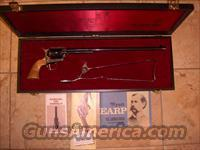 Wyatt Earp .45 Colt with Skelton Shoulder Stock  Colt Double Action Revolvers- Modern