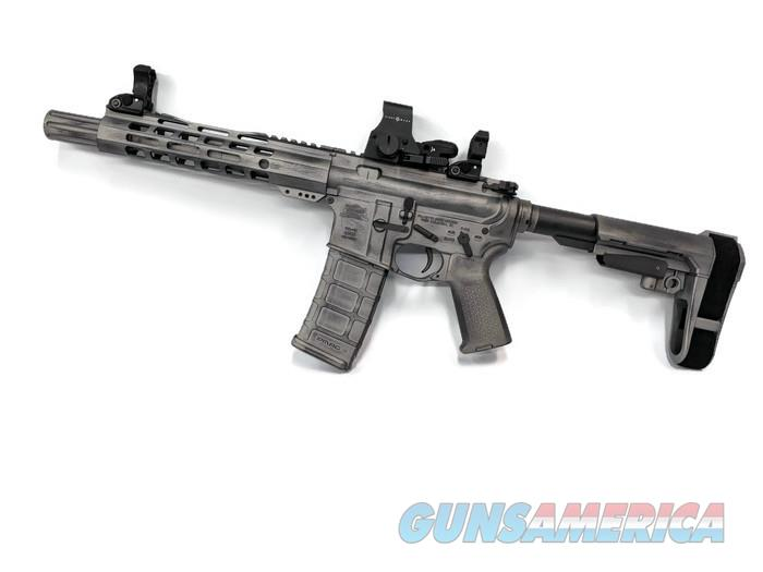 PSA 15 300AC Blackout with SB Tactical Brace in EFR Battle Worn Finish  Guns > Rifles > AR-15 Rifles - Small Manufacturers > Complete Rifle