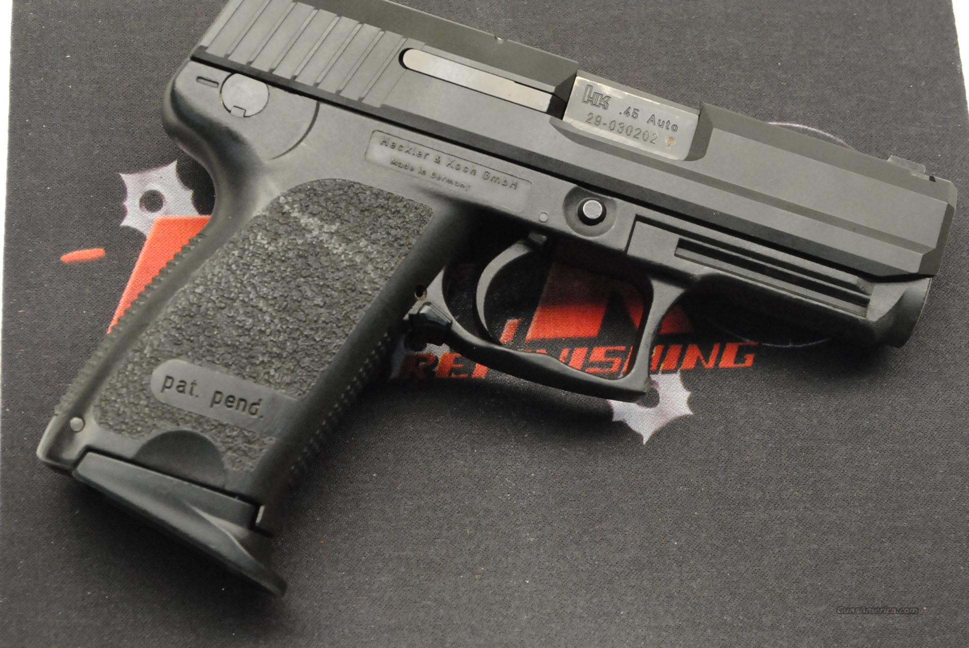 HK USP Compact with Night Sights, 45 ACP  Guns > Pistols > Heckler & Koch Pistols > Polymer Frame