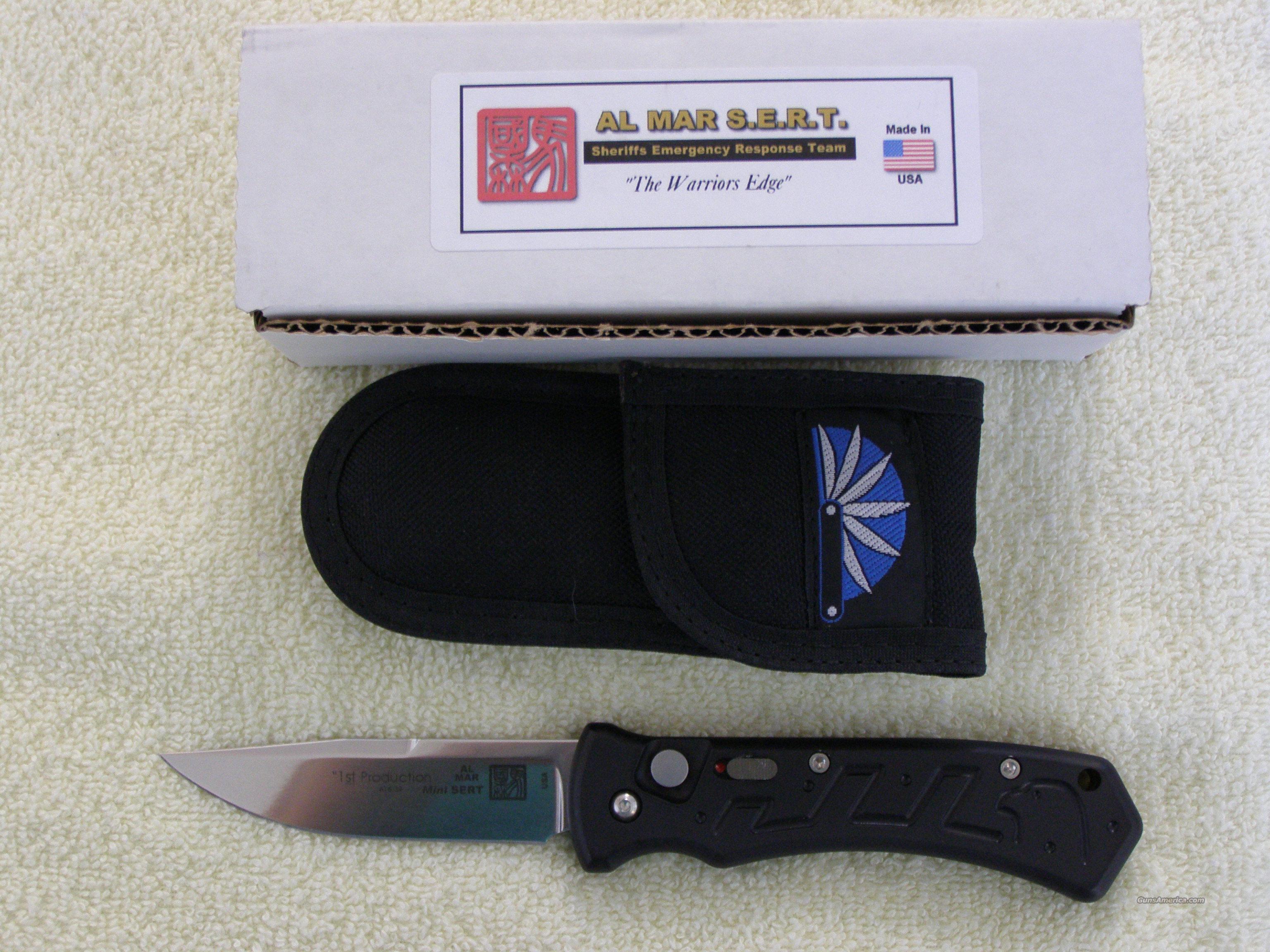 Al Mar Mini S E R T Automatic Knife For Sale