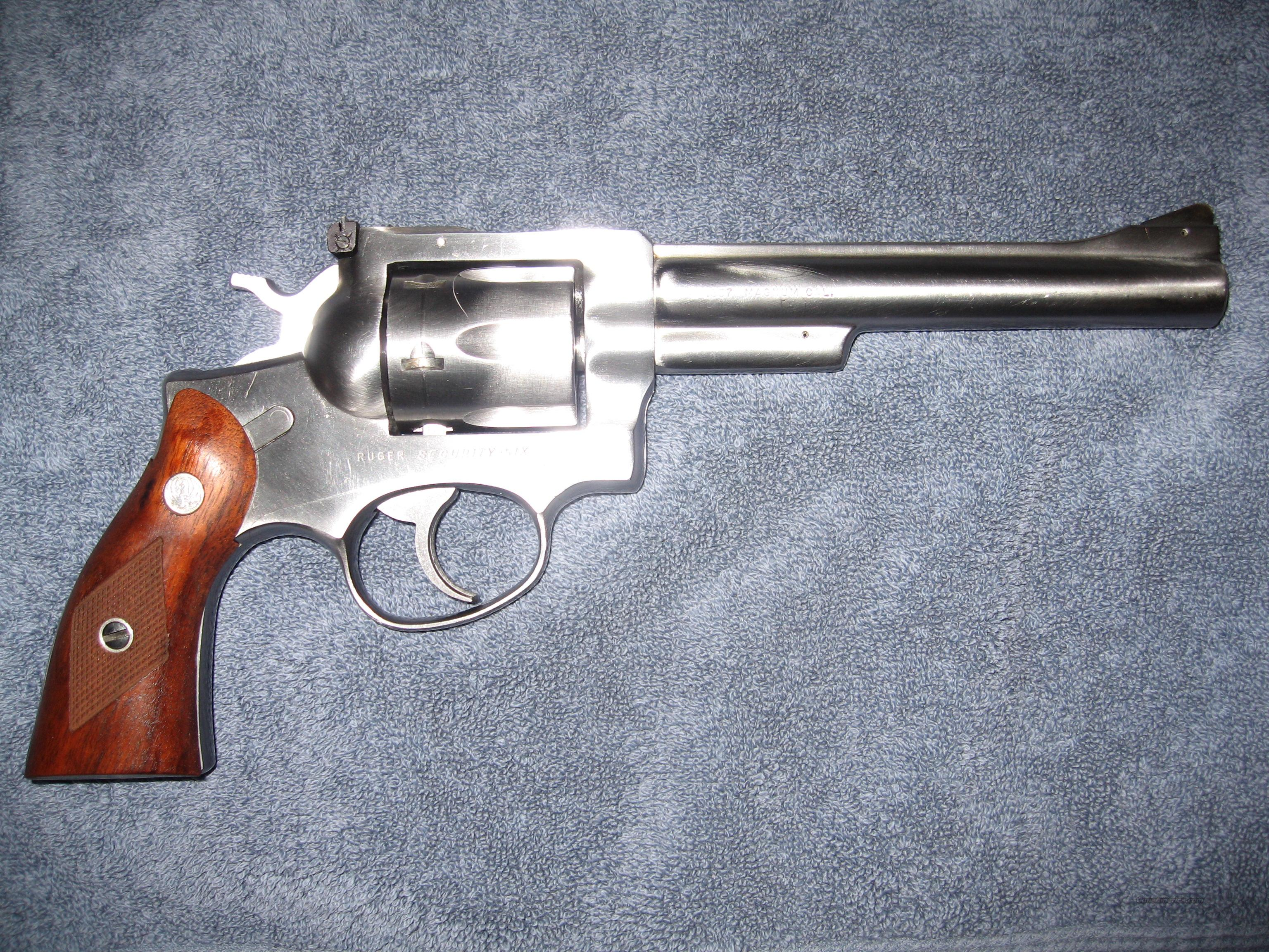 Security Six Stainless 1970's  Guns > Pistols > Ruger Double Action Revolver > Security Six Type