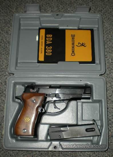 Browning BDA pistol NO RESERVE  Guns > Pistols > Browning Pistols > Other Autos