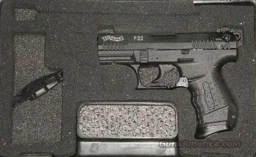 Walther P22 (no reserve)  Guns > Pistols > Walther Pistols > Post WWII > P22