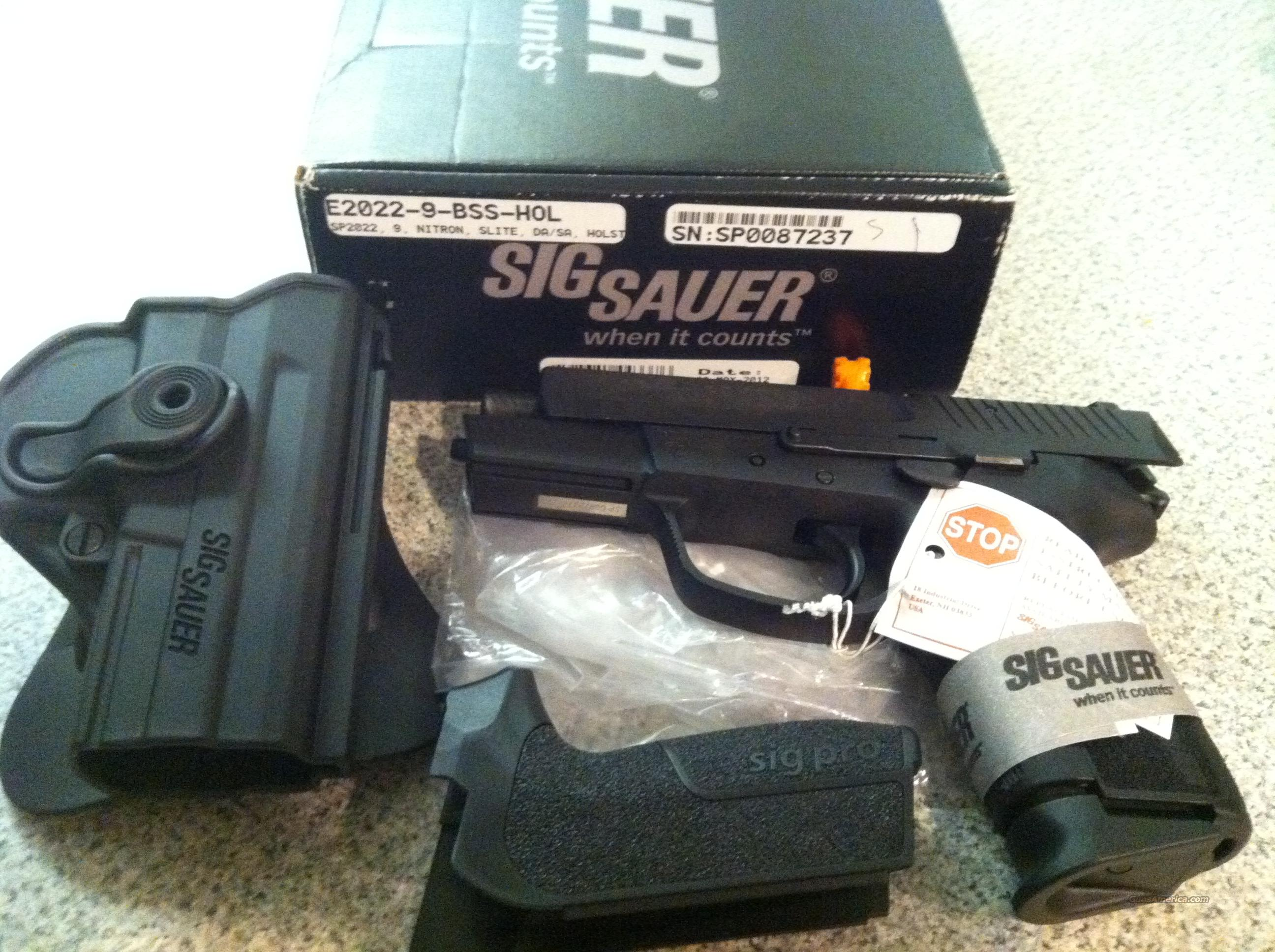 SIG sp2022 Hoslter/Extra Grip included  Guns > Pistols > Sig - Sauer/Sigarms Pistols > 2022