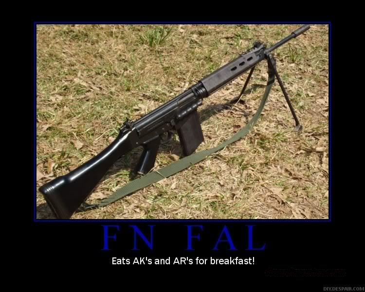 FAL/IMMBEL/ MILITRARY BRAZLIAN ARMY WITH BIPOD  Guns > Rifles > FNH - Fabrique Nationale (FN) Rifles > Semi-auto > FAL Type