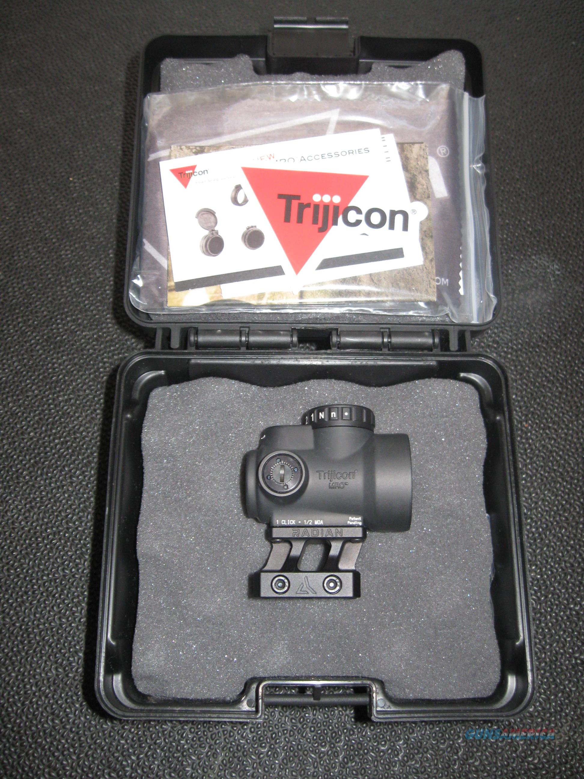 Trijicon MRO with Radian Weapons Mount  Non-Guns > Scopes/Mounts/Rings & Optics > Rifle Scopes > Variable Focal Length